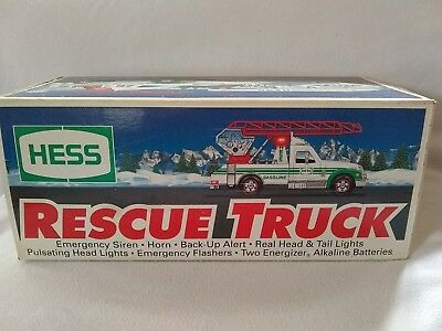 1994 Hess Rescue Truck, New In Original Box, Collectible, Free Shipping