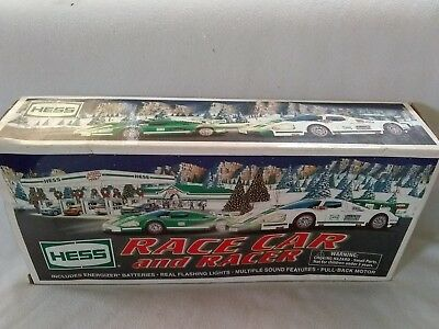 2009 Hess Race Car And Racer, New In Original Box, Free Shipping