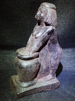 ANCIENT EGYPT EGYPTIAN ANTIQUE Woman Brewing Beer Statue Sculpture 2500-2350 BC