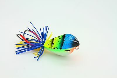 Fishing lure wood handmade jumping frog 4 cm.topwater outdoor sport 2017 game