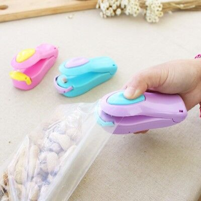 Portable Food Sealer Household Mini Sealing Machine Heat Bag Sealer Capper