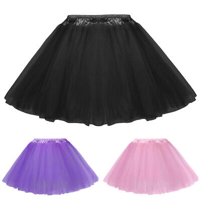 KK Baby Girl Classical 5-Layers Soft Tulle Netting Tutu Skirt 6M~8Y Last Sale!