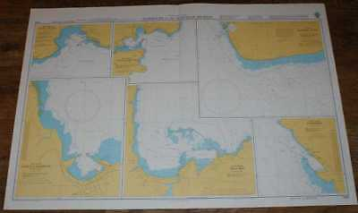 Nautical Chart No. 1490 North Pacific Ocean - Harbours in the Hawaiian Islands