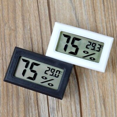 2018 Mini Digital LCD Indoor Temperature Humidity Meter Thermometer Hygrometer