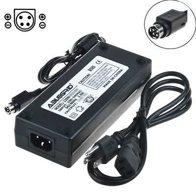 4-Pin AC / DC Adapter For Mintek ADPV32 LCD TV Power Supply Cord Charger PSU