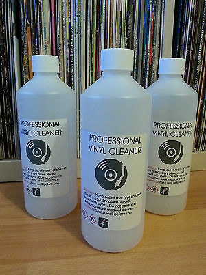500 ML -   VINYL RECORD CLEANING FLUID  for :  Knosti ,Spin Clean.