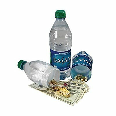 QUALITY CANS Diversion Bottle Safe Secret Container Dasani Bottled Water by