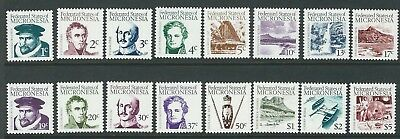 Micronesia 1984 First definitives set of 16 Sc 5-20 MUH