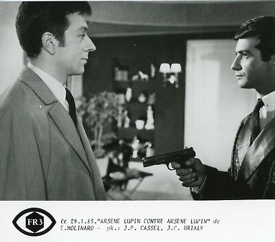 PHOTO ARSENE LUPIN CONTRE ARSENE LUPIN P1 JEAN-CLAUDE BRIALY FORMAT 20X27 CM