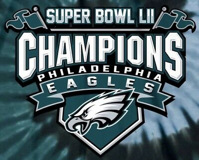 b557a9f3a32ba (2) Philadelphia Eagles Super Bowl Champions Vinyl Stickers 5x4 Car Window  Decal