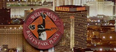 Bally's Park Place Casino - Willie Mays 1979 $5 Gaming Chip - Atlantic City  #24