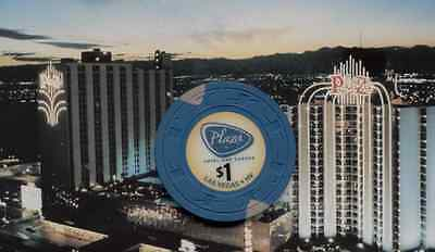 Plaza Hotel Casino - $1 Gaming Chip - Las Vegas Nv - Chip Is Obsolete