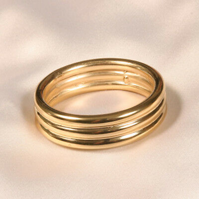 SYLVIE MONTHULE Ring ALL09 gold 35 mm