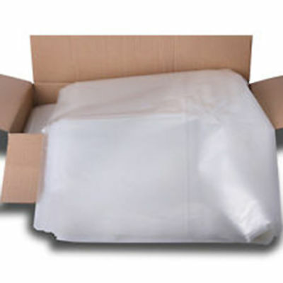 Strong Heavy Duty Plastic Clear Rubble Sacks Builders Bags All Sizes New