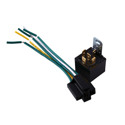 5 pair 12v automotive relays wire harness 4 pin single pole spst rh picclick com Wiring Harness Parts Wiring Harness Parts