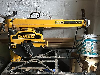 dewalt radial arm saw 721