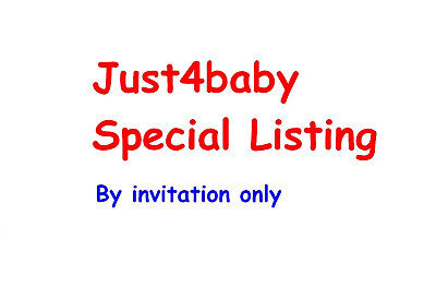 just4baby special listing by invitation only