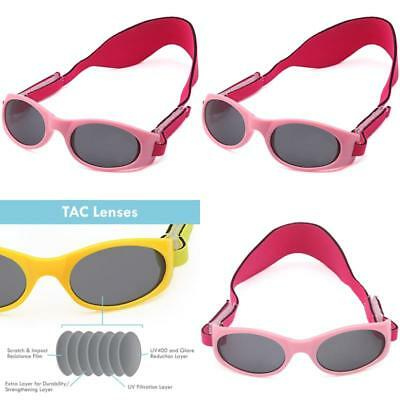 Trust Optics Toddler Baby Kids Uv400 Sunglasses With Two Adjustable Straps new
