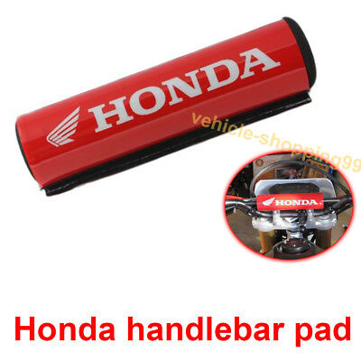 Honda Handlebar Pad Red Motorcycle Crossbar Motocross Dirt Bike ATV Bar Grip x1