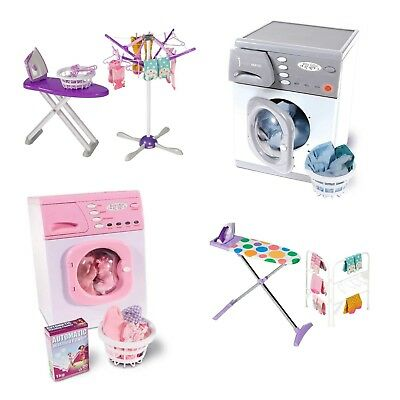 Casdon Toy Washer Ironing Set OR Wash Day Set Toy Role Play Pretend Cleaning NEW