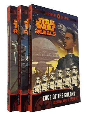 Star Wars Rebels 3 Books Servants of the Empire Chapter Books Kids Boy Girl New