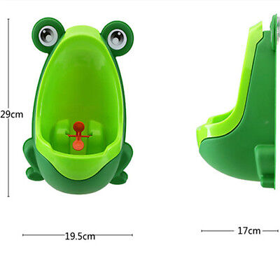 Frog Children Potty Toilet Training Kids Urinal Baby Boys Pee Trainer Bathroom F