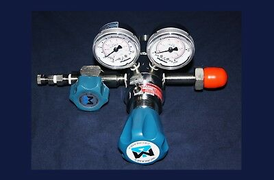 Matheson M3813a Series Dual-Stage High-Purity Regulator Gasregler