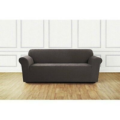 Sure Fit Ultimate Stretch Chenille Box 3 Cushion Sofa Slipcover