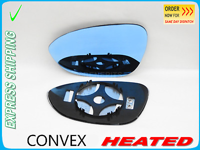Wing Mirror Glass For BMW X3 E83 2003-2009 Convex Heated Left Side #B016