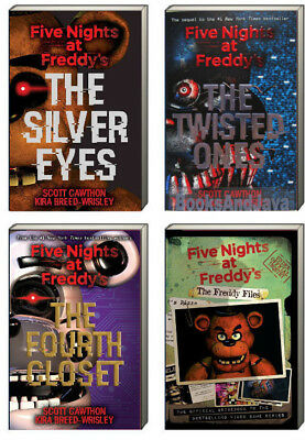 Five Nights at Freddy's Silver Eyes,The Twisted Ones, Freddy Files (pb) 3bks NEW