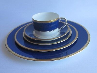 Coalport ATHLONE-Blue 5Pc. Place Setting FREE SHIPPING to Canada and USA