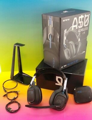 ASTRO Gaming A50 - Black Gen 2 PS Wireless Gaming Headset READ! #Micria