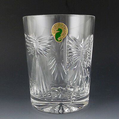 Waterford Crystal Millennium DOF Universal Five Toast Double Old Fashion Tumbler
