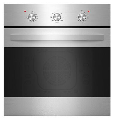 """Empava 24"""" Stainless Steel 6 Cooking Function Electric Built-in Single Wall Oven"""