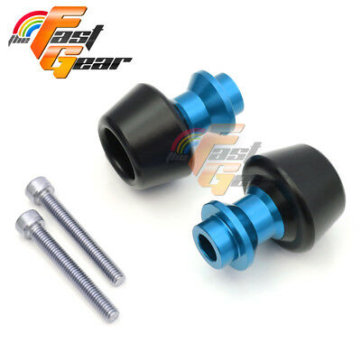 Blue CNC Swingarm Spools Sliders Set Fit Kawasaki ZX-10R Ninja 2011-2015