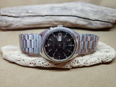 Rare Vintage Seiko Bell Matic Black Dial Daydate Auto 4006A Man's Watch