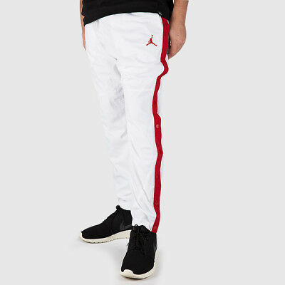 ef32f6855741 NIKE JORDAN RETRO AJ 1 Wings Men s Basketball Pants XL Black Red Gym ...