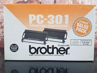 Brother PC-301 Printing Cartridge Fax 2003