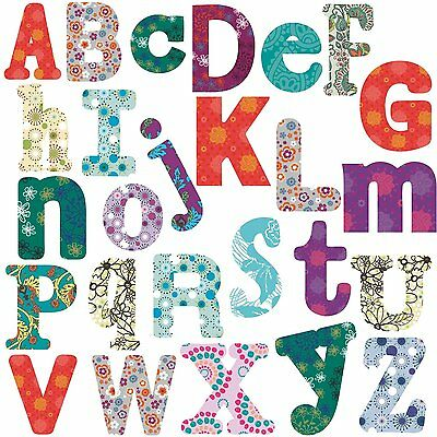 Boho Alphabet BiG Room Decor Wall Stickers Vinyl Removable Letters Decals NAME