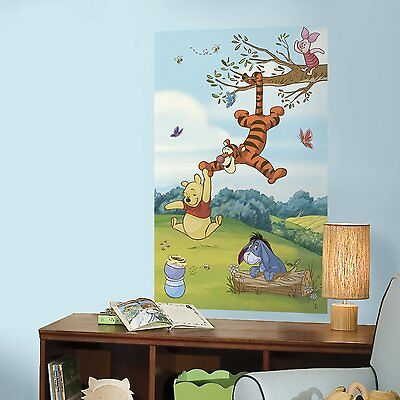 WINNIE THE POOH MuRaL Wall Decals Room Stickers Decor Decorations ...