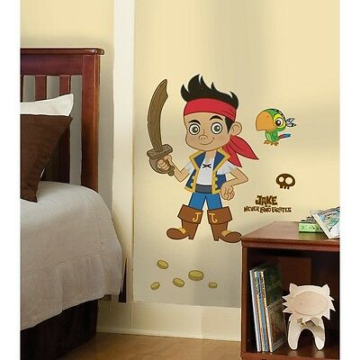 CAPTAIN JAKE AND THE NEVERLAND PIRATES SCENE WALL DECALS Pirate Room ...