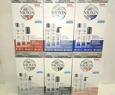 Nioxin Hair System Kit Brand New 2018 Product Bigger Sizes - You Choose