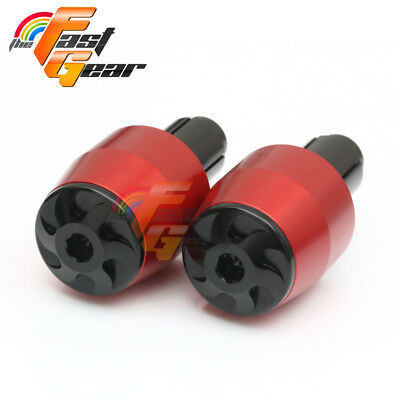 CNC Billet Red Bar Ends Sliders Fit BMW S1000RR 2009 2010 2011 2012 2014