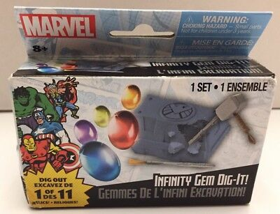 Marvel Thanos Infinity Gauntlet Dig-It Series! One Shield Blind Mystery Box Gem!