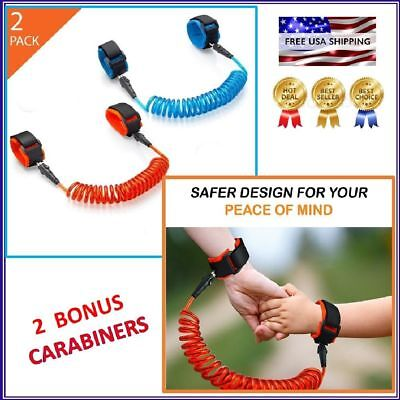 Anti Lost Wrist Link Child Leash Band Hand Safety Strap Rope Kids Baby Harness