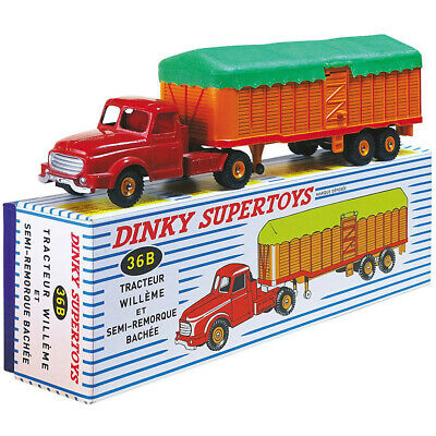 1:43 ATLAS Dinky toys SUPERTOYS 36B 36 B TRACTEUR WILLEME Diecast car model new