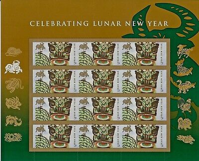 SCOTT #4375 – 2009 42c Chinese New Year - Year of Ox - FULL SHEET OF 12 STAMPS