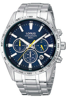 LORUS RT321CX-9,Men's Chronograph,QUARTZ,STAINLESS CASE,Brand New,50m WR