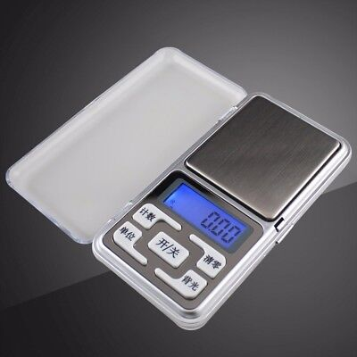 500g 0.1g Digital Pocket Scale Precision Jewellery Balance gram Scales Weight
