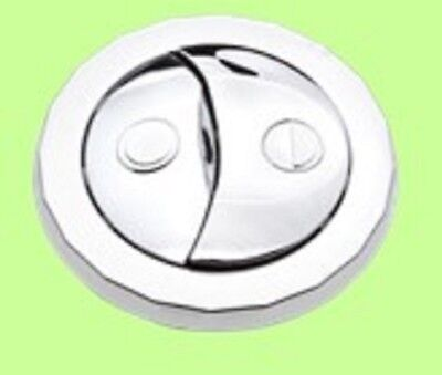 Imperial Ware Imperialware Dual toilet DIMPLE flush round button 48mm face